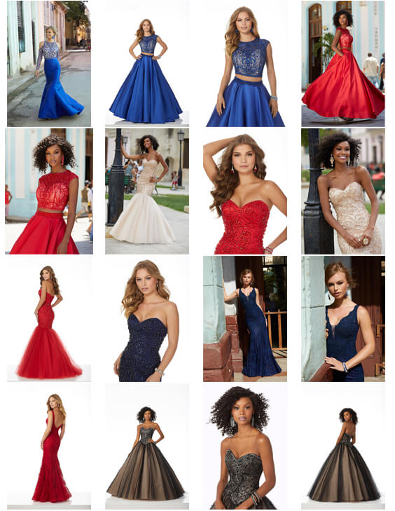 2018 collection of designer prom dresses swindon