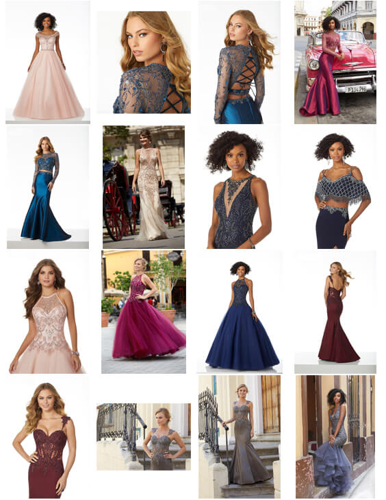 2018 collection of designer prom dresses swindon